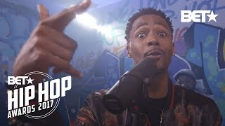 The Cast Of 50 Central Did A BET Hip Hop Awards Instabooth Freestyle