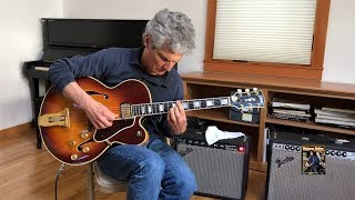 Enjoy jazz melodies from George Cotsirilos and his 1970 Gibson L-5