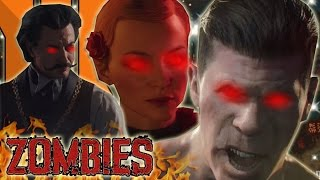SHADOWS OF EVIL CHARACTERS ARE ZOMBIES! CREW ARE DEAD! Black Ops 3 Zombies Storyline & Easter Egg