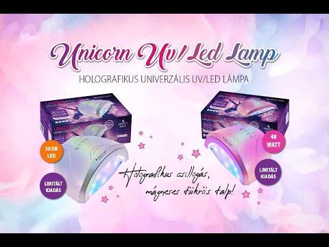 Unikornis lámpa - unboxing - termékbemutató| Perfect Nails
