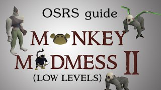 [OSRS] Monkey Madness 2 quest guide (low/med levels)