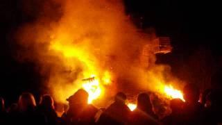 Buergbrennen bei den LGS vu Beggen (VIDEO)