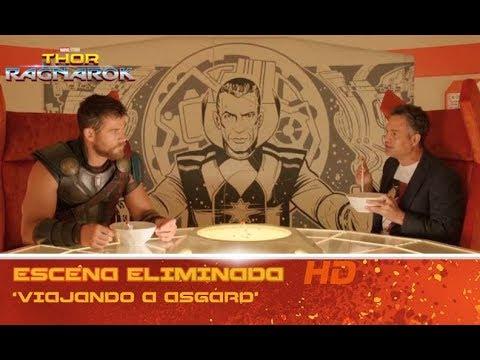 Thor: Ragnarok de Marvel | Escena eliminada: 'Viajando a Asgard' | HD