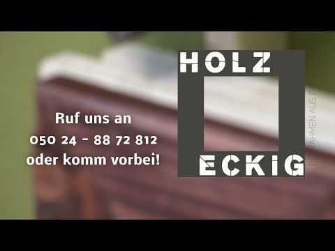 """""""Holzeckig"""" Bilderrahmen aus der Natur"""