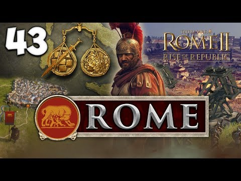 THE FINAL WAR FOR THE NORTH! Total War: Rome II - Rise of the Republic - Rome Campaign #43 (видео)