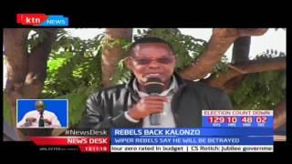 Wiper Party rebels from Ukambani back exit of Kalonzo from NASA