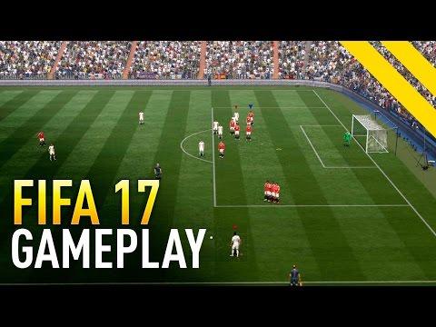 FIFA 17 GAMEPLAY | NUEVA JUGABILIDAD (FALTAS, PENALTIS, SAQUES…)