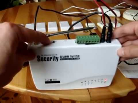 Home Security GSM Alarm System Wireless