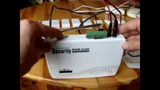 GSM ALARM SYSTEM sc-101