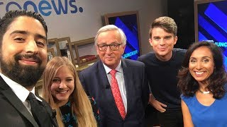 European Commission president answers questions from YouTubers #AskJuncker