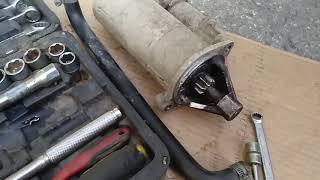Поломка на маршруте проскочила цепь и сломался стартер