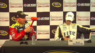 NASCAR Interview Shenanigans