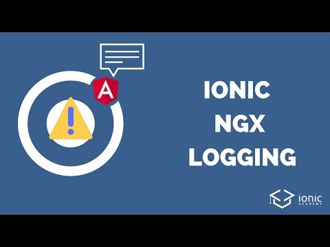 How to Log Better in Your Ionic App With ngx-logger
