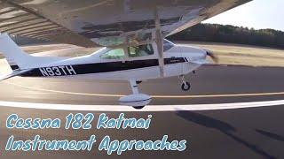 Cessna 182 Peterson Katmai | RNAV Approaches