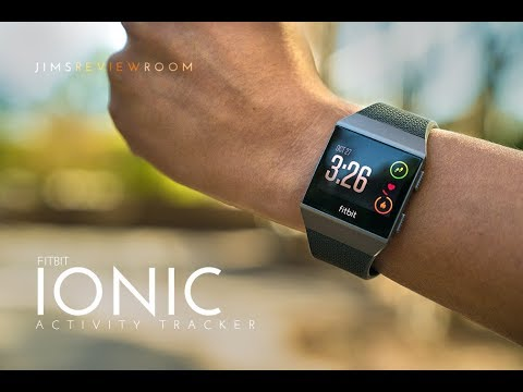 Fitbit Ionic GPS Fitness Tracker – REVIEW