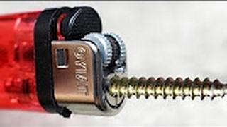 5 ไอเดียประดิษฐ์โคตรเจ๋ง ง่ายๆ ทำได้ที่บ้าน - ไฟแช็ค