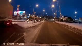 ДТП, АВАРИИ ЗА 15 ЯНВАРЯ 2019 (15.01.2019)  A selection of accidents on January 15, 2019