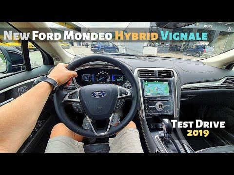 New Ford Mondeo Hybrid Vignale 2019 Test Drive Review