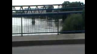 preview picture of video 'Hochwasser 08.06.2013 Roßlau Dessau Elbe Mulde'