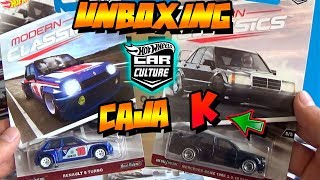 UNBOXING - HOT WHEELS CAR CULTURE CAJA/CASE K - MODERN CLASSICS