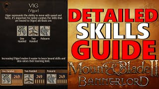 M&B Bannerlord VIGOR Skills Guide (One-Handed, Two-Handed, Polearm)