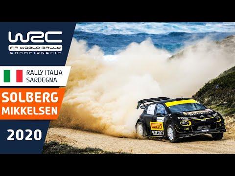 ソルベルグの走りをまとめたダイジェスト動画。WRC ラリー・イタリア・サルディニア