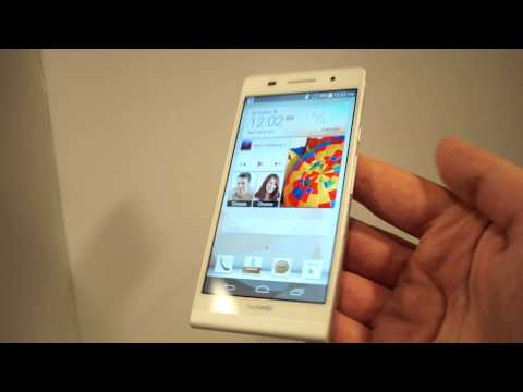 Huawei Ascend P6, hands-on la lansare