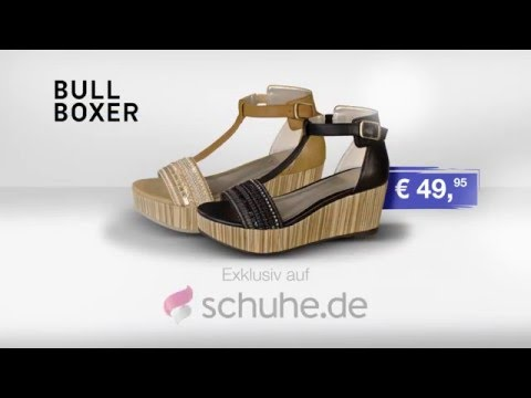 Bullboxer Plateau Sandaletten aus der TV Werbung 2016 | schuhe.de
