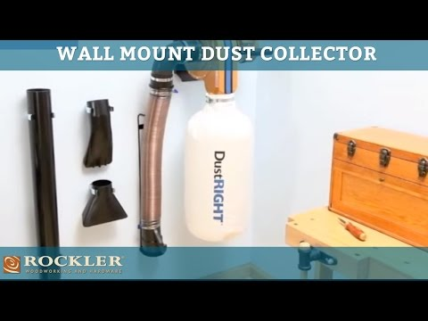 Rockler Dust Right Wall Mount Dust Collector | Rockler ...