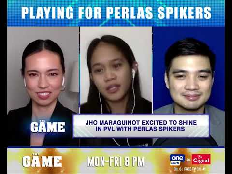 THE GAME | Jho Maraguinot on her new journey with Perlas Spikers