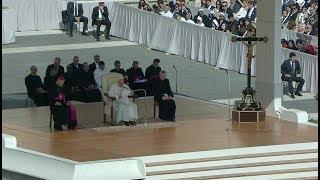 El Papa, al UNIV: «Fundad vuestra vida en los valores de la fe»