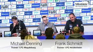 FCM nach Spiel gg. Heidenheim