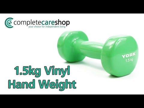 1.5kg Vinyl Hand Weight Demo
