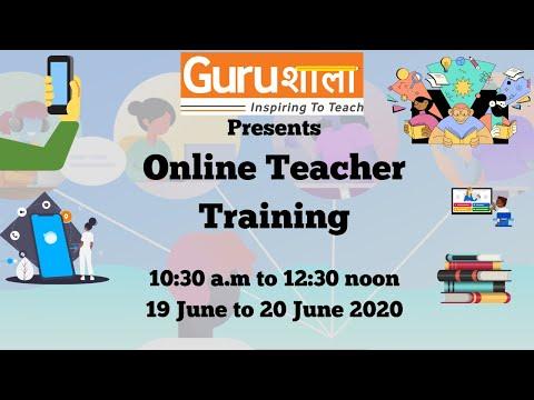 Online Teacher Training (20 June 2020) - YouTube