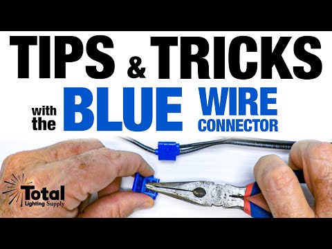 Tips & Tricks with Our Blue Wire Connector
