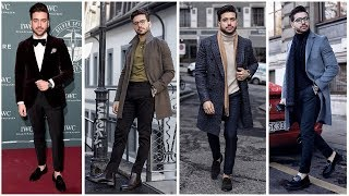 MENS OUTFIT INSPIRATION | 4 Easy Winter Outfits For Men | Fashion Lookbook Alex Costa