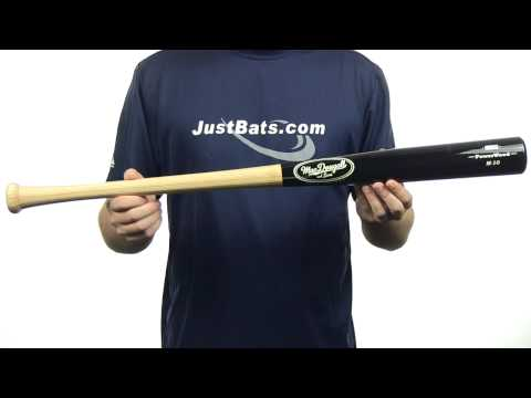 MacDougall and Sons PowerWood M-10 Wood BBCOR Bat: M10CB Adult