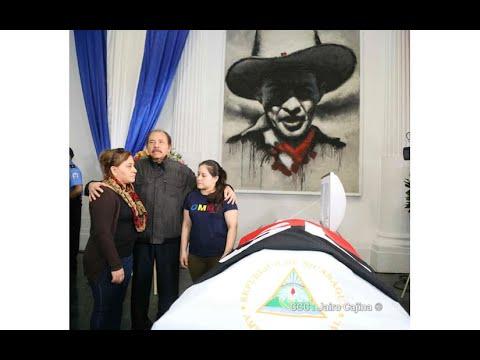 Comandante Daniel Ortega despide al guerrillero Juan Ramón Ramos honrando su memoria y legado