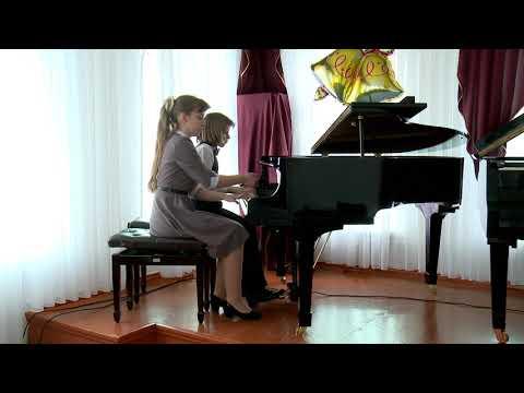 Фортепианный дуэт: Щербаков Кирилл Владимирович и Кузякина Ирина Михайловна