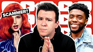 WOW! Is Bella Thorne a Scammer? Remembering Chadwick Boseman. The Belarus Russia Crisis Explained.