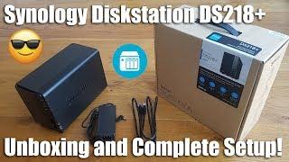 Synology DS218 + 2 Bay-Desktop-NAS-Gehäuse [Praktische Überprüfung und Test]