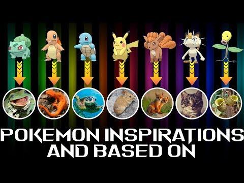 Pokémon Inspirations and Based On