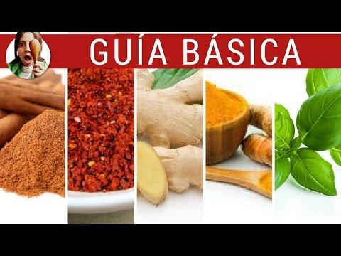 Hierbas y especias que hay que tener / GUIA BÁSICA de condimentos - Paulina Cocina