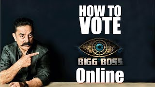Bigg Boss Tamil Vote - How to vote Online & using Missed Call
