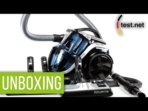 Rowenta | Bodenstaubsauger Silence Force Multi-Cyclonic (Unboxing) | test.net