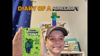 Kid Book Review   Diary of a Minecraft Zombie   Book 1 - A Scare of a Dare