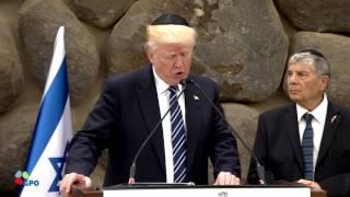 PM Netanyahu and US  President Trump at Yad Vashem