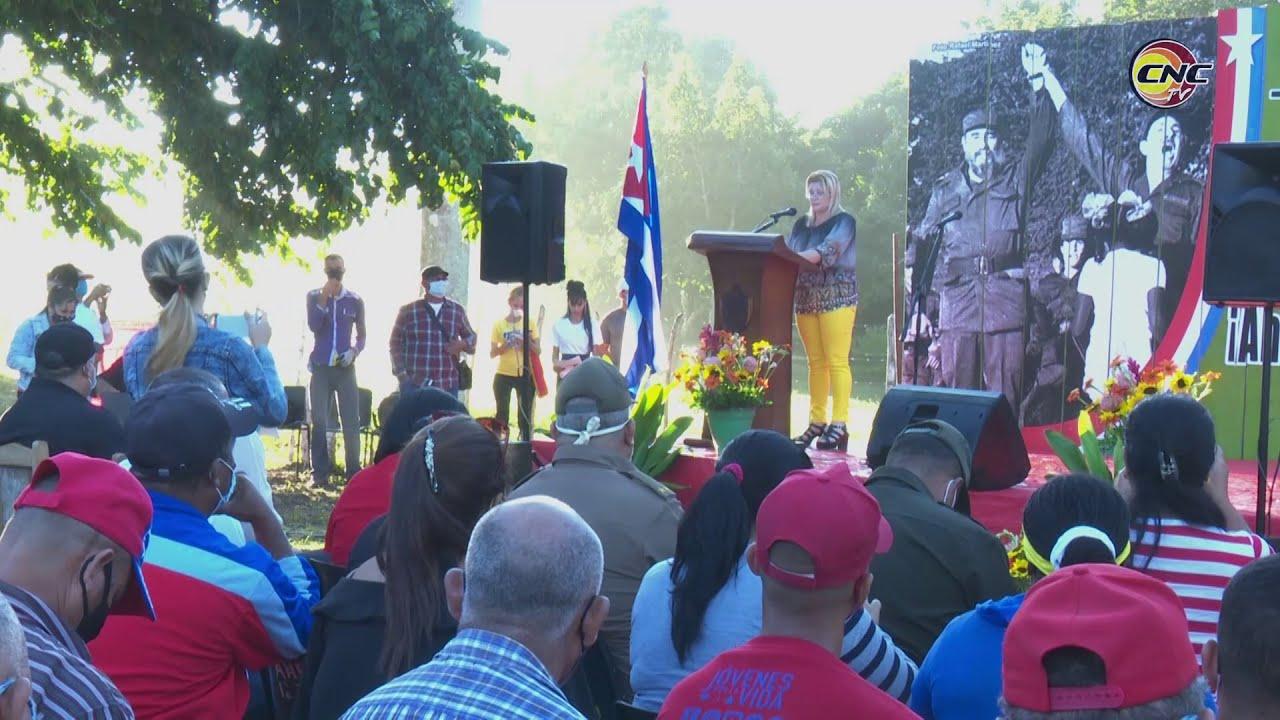 Rememoran aniversario 64 del reencuentro de Fidel y Raúl en Cinco Palmas