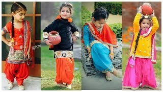 Kids Punjabi Suit Design Ideas/Patiala Suit For Girls/cute Indian Outfits Ideas For Girls