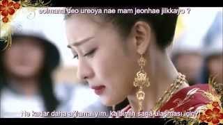 Kim Junsu - I Love  You (Empress Ki OST) Türkçe Altyazılı / Turkish Subtitled (Wang - Nyang)